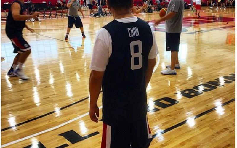 Джонни Чен – баскетболист?!