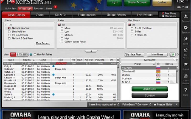 PokerStars запустили новую бета-версию Pokerstars 7