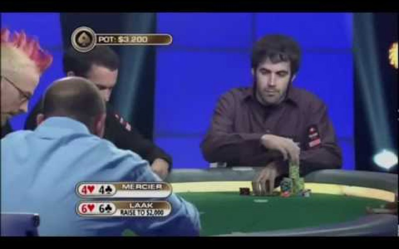 видео: The Big Game: Folding Pocket Aces before the Flop