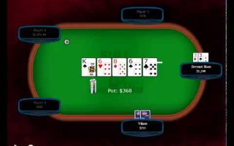 Порядочное видео: Guess the Hand – Dermot Blain No Limit Hold'em