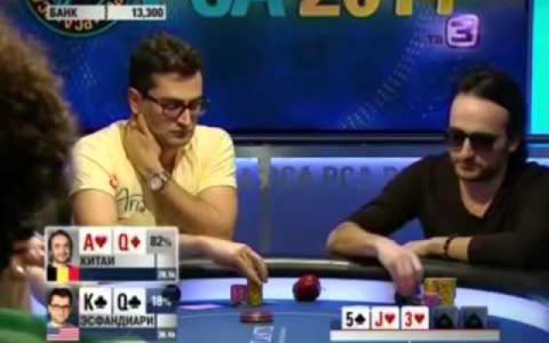 Видео: Европейский покерный тур на тв3. 02.08.2014