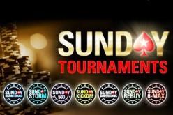 Заносы покеристов в Sunday Majors на прошлых выходных