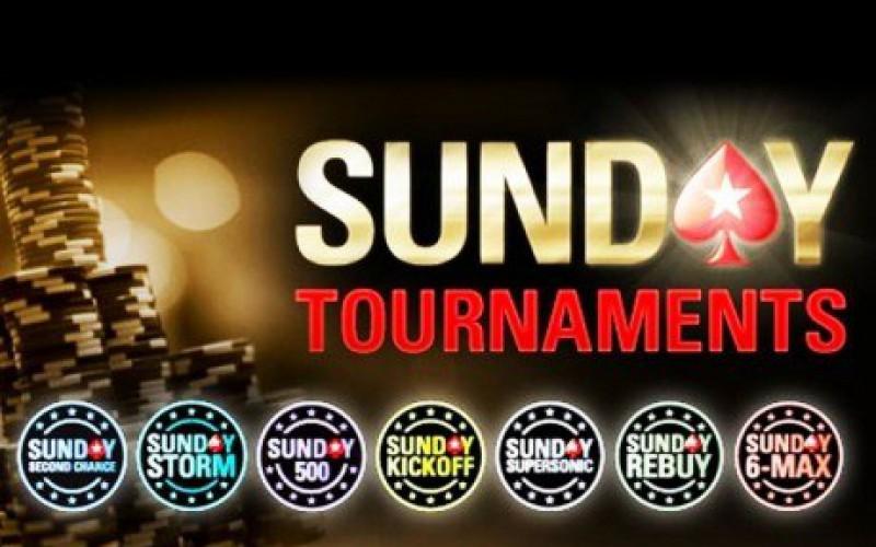 Победа россиянина в Sunday Million и третье место украинца в миллиардном турнире на PokerStars