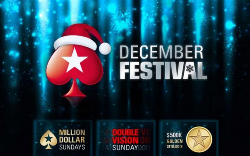 PokerStars разыграет в Декабрьском фестивале $15,000,000