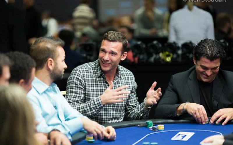 Андрей Шевченко выиграл €10 000 в покер