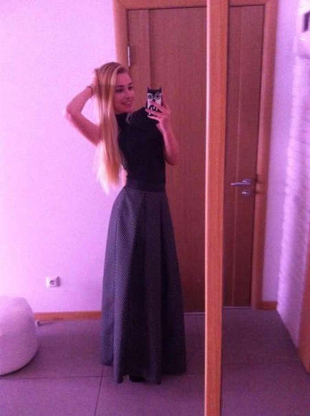 Ольга Ермольчева Купила новое платье, умру голодная, зато красивая