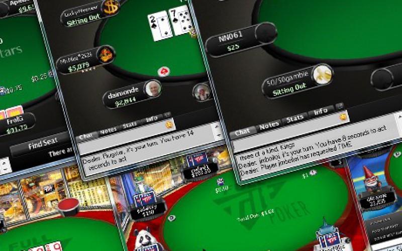 Пятничный экшн на PokerStars
