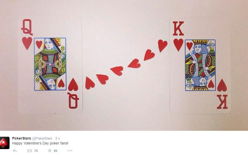 PokerStars на страже любви
