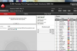 «RasA86» выиграл Thursday thrill на PokerStars