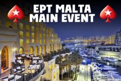 Трансляция с Главного турнира EPT Мальта €5,300, день 4
