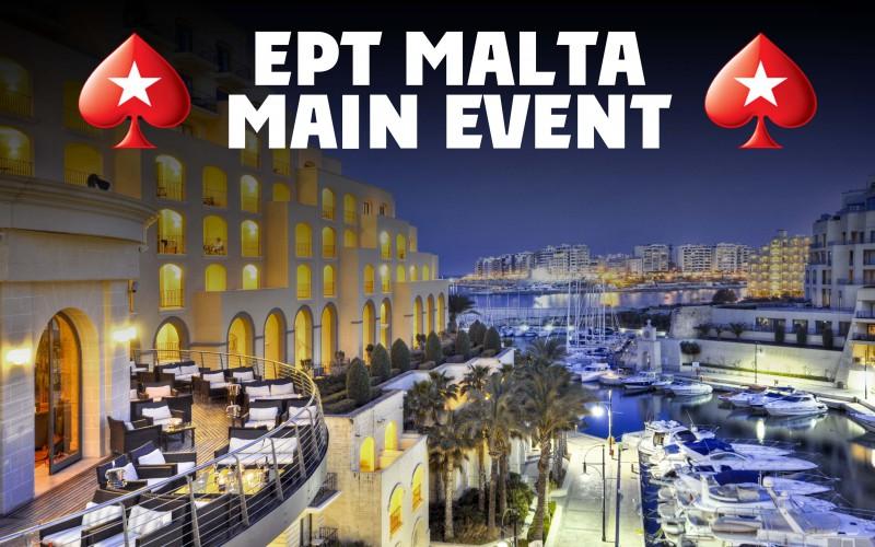 Трансляция с Главного турнира EPT Мальта €5,300, день 5