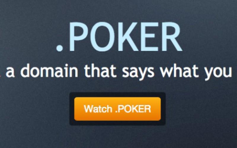 Домен .poker уже в продаже