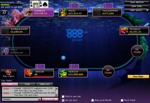888 poker screenshot 2