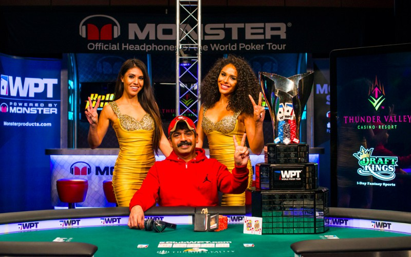 WPT Rolling Thunder занёс Рави Мати Сандар