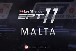 EPT 11 на Мальте 2015 – Живой турнир – Главное Событие, День 2, PokerStars