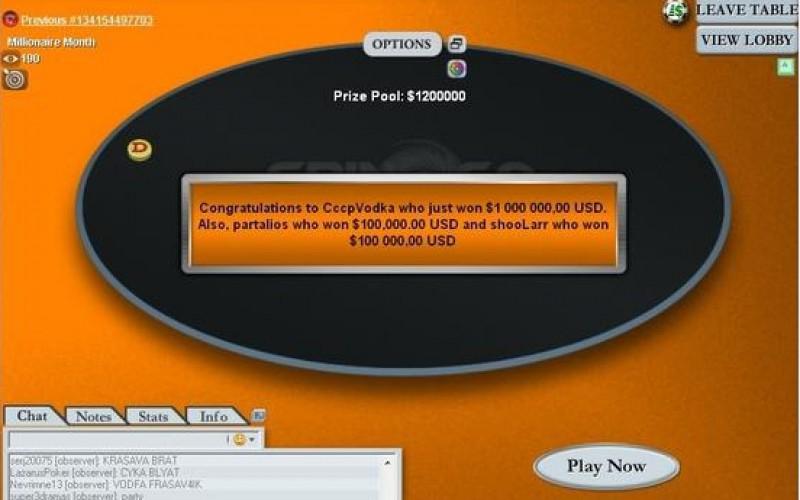 Интервью с россиянином, выигравшим $1.000.000 в турнире «Spin & Go»