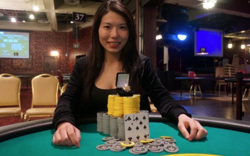 Девушке покорился покерный турнир WSOP Circuit