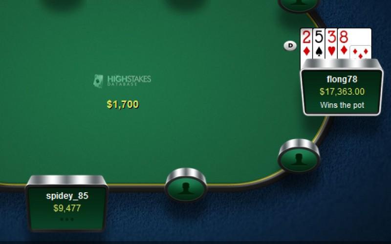 """Большие выигрыши для """"flong78"""" на PokerStars и для Блома на Full Tilt"""