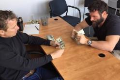 Билзерян учит играть в покер кандидата в президенты (+ видео)