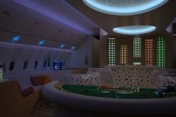 Казино на борту самолёта