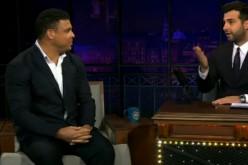 Роналдо побывал в шоу «Вечерний Ургант» (видео)