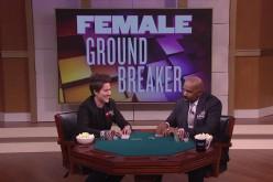 Ванесса Селбст раскрывает секреты покера на телешоу