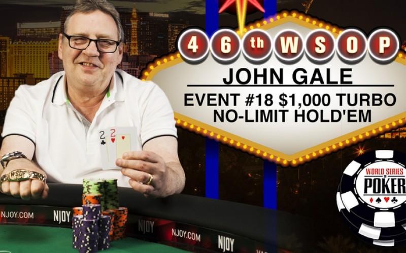 Триумфальное возвращение Джона Гейла на WSOP