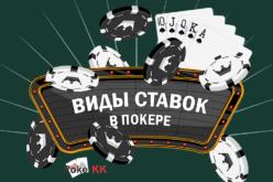 Какие существуют ставки в покере и как нужно правильно ставить?