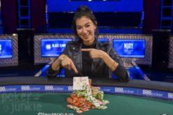 Сафия Умерова, новый игрок WSOP и обладательницей браслета в турнире шутаут