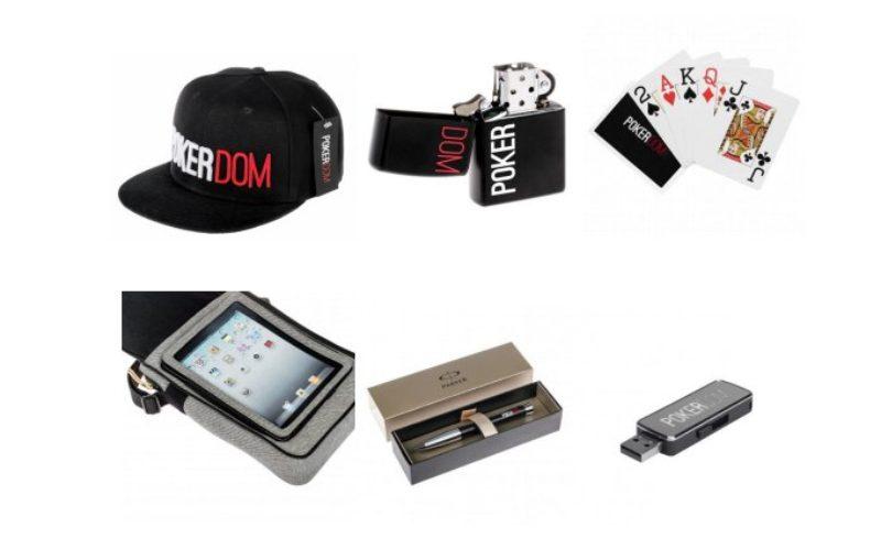 Известный игровой портал PokerDom открыл магазин брендовых вещей