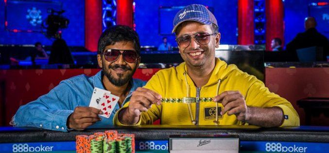 Адитья Сушант и Нипун Джава выиграли командный турнир на WSOP 2017