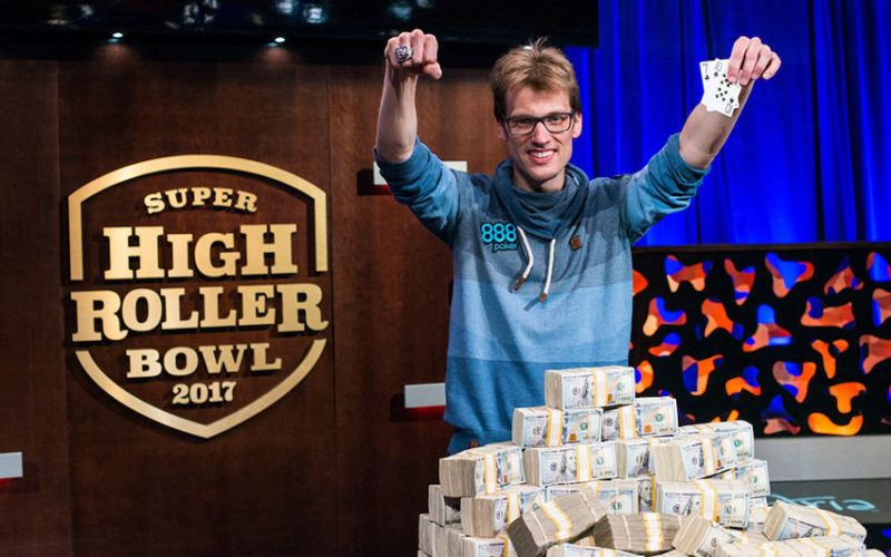 Крис Вогельсанг выиграл Super High Roller Bowl и $6 млн