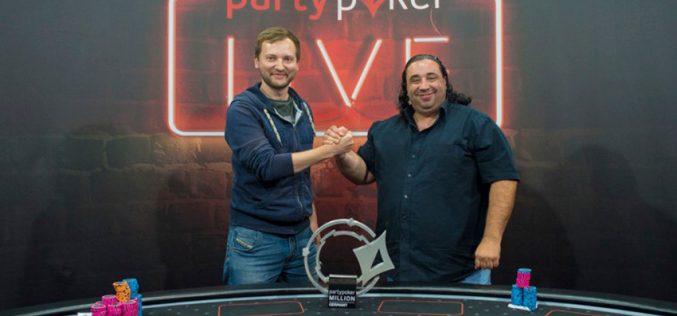 Михал Мракеш первый в Главном событии Party Poker LIVE Million